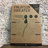 Finlayson Sweater Pattern by Theory Thread Designs