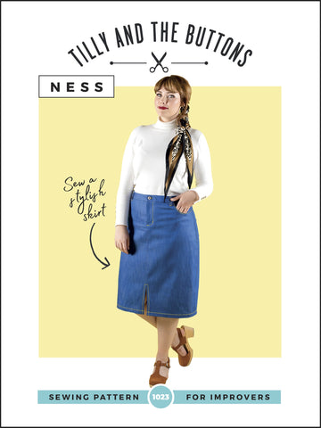 Ness Skirt Pattern by Tilly and the Buttons