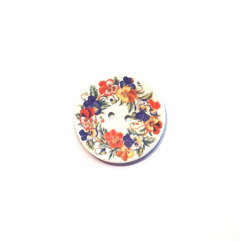 Coconut-shell-flower-printed-button