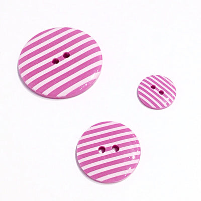 Pink-striped-button