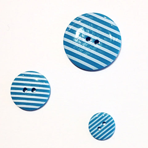 Turquoise-striped-buttons