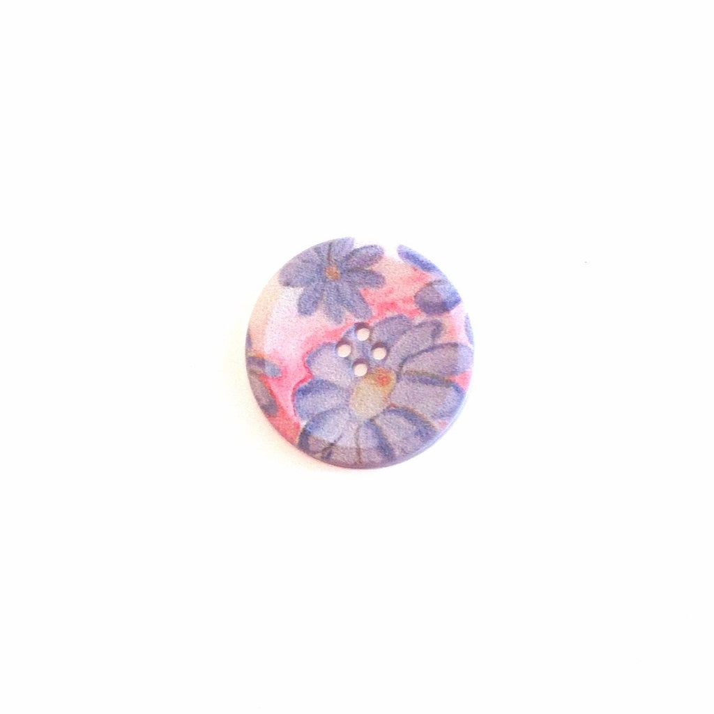 FAbric-textured-floral-button