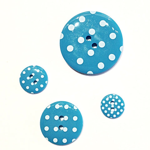 Turquoise-polka-dot-buttons