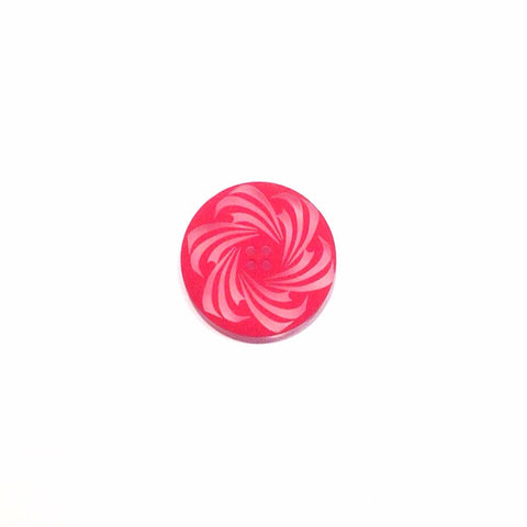 pink-Clear-swirl-plastic-button