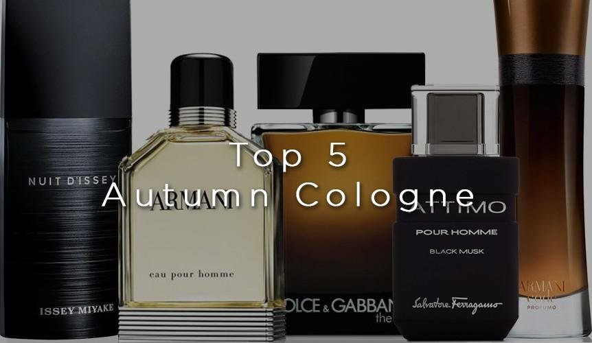 Top 5: Autumn Cologne for Men | My Perfume Shop