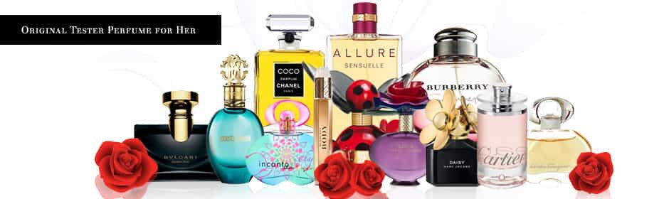 Women's Tester Perfumes