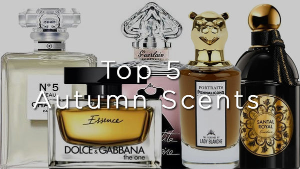 top 5 autumn scents
