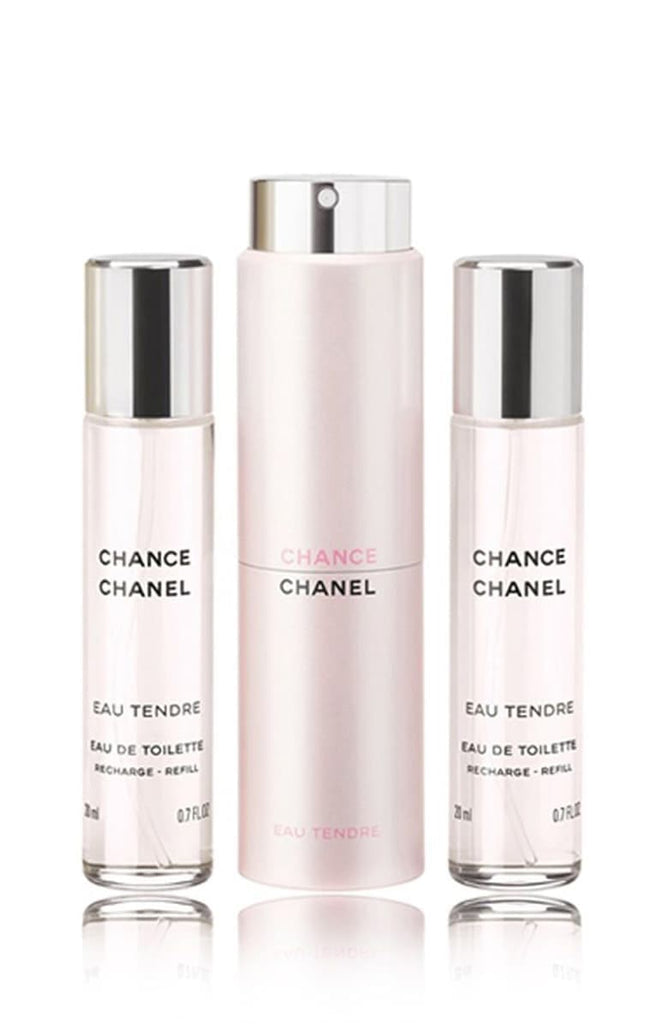 Chanel Chance eau Tendre Edt 3x20ml Tester 3x20ml Edt  Chanel Tester Women