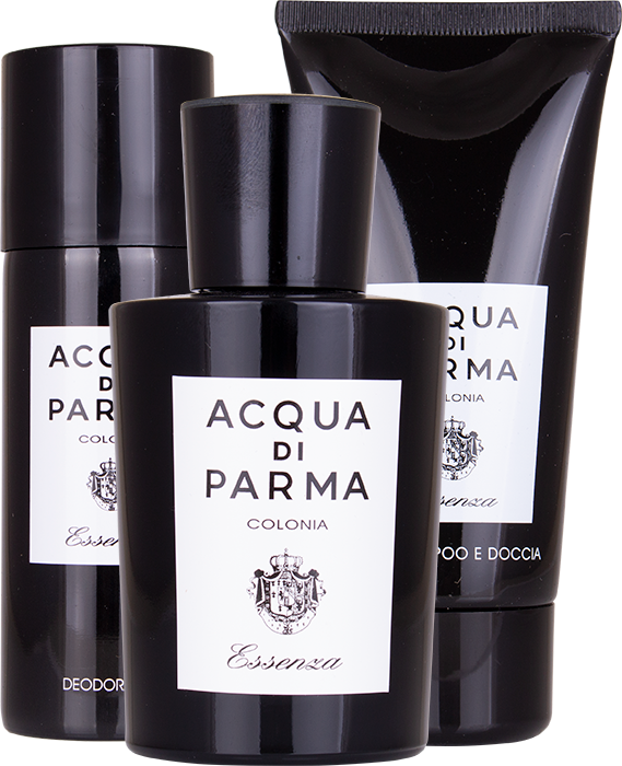 Acqua Di Parma Colonia Essenza EDC 100ml - Giftset 100ml edc, showergel and deo spray  Acqua di Parma For Him
