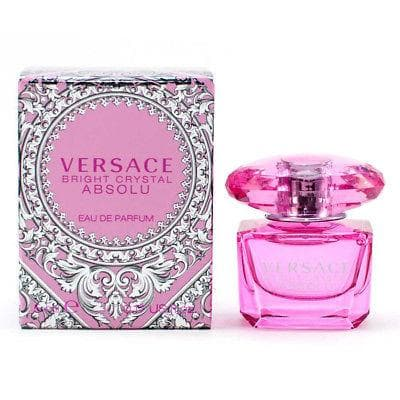 Versace Bright Crystal Absolu - Mini 5ml Edp Mini  Versace For Her