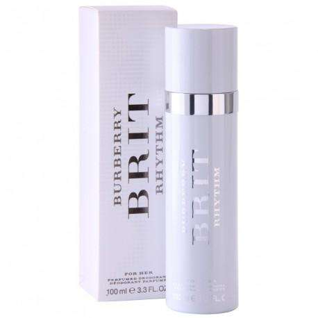 Burberry Brit Rhythm For Women - 100ml Deo Spray 100ml Deo Spray  Burberry For Her