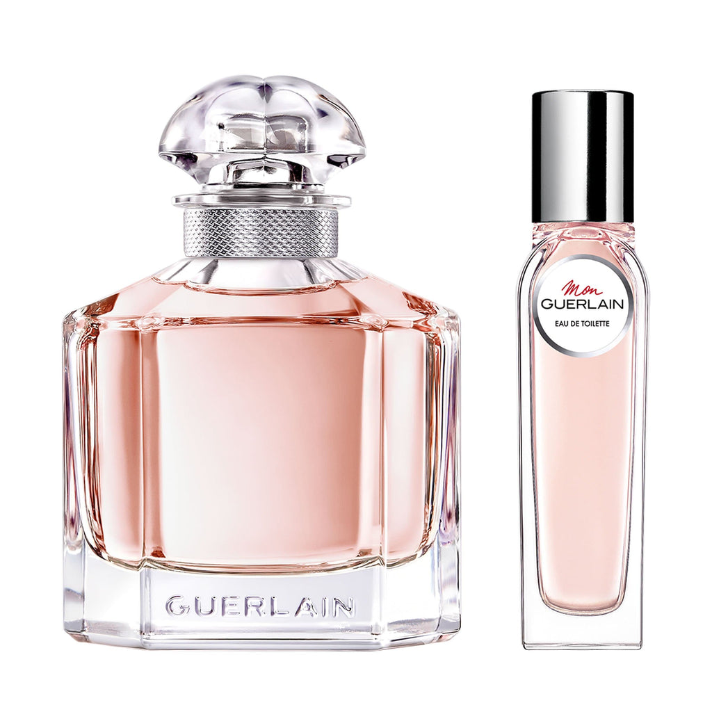 Guerlain Mon Guerlain 100ml Edt w/ free pursespray 100ml Edt & 15ml Edt  Guerlain Giftset For Her