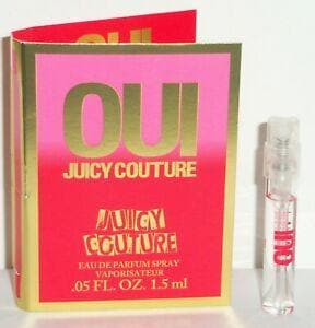 Juicy Couture Oui 1,5ml Edp Vial 1,5ml Edp Vial  Juicy Couture For Her