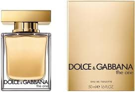 Dolce & Gabbana The One Women 50ml Edt 50ml Edt  Dolce&Gabbana For Her myperfumeshop-test.myshopify.com My Perfume Shop
