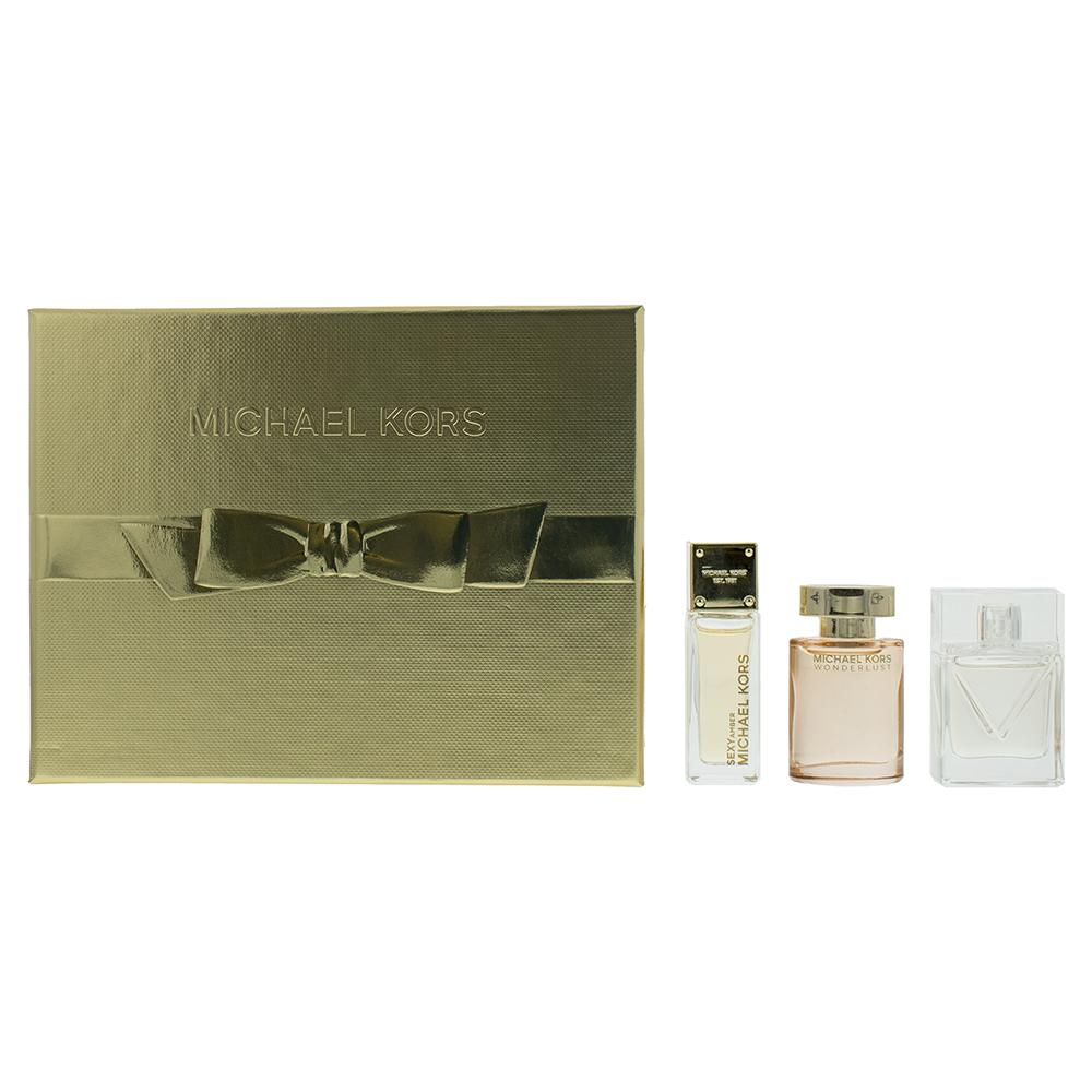 Michael Kors Mini Gift Set For Women 3 x Minis  Michael Kors Giftset For Her
