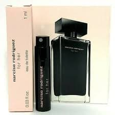 Narciso Rodriquez for Her Edt - Vial 1ml Edt Vial  Narciso Rodriguez For Her myperfumeshop-test.myshopify.com My Perfume Shop