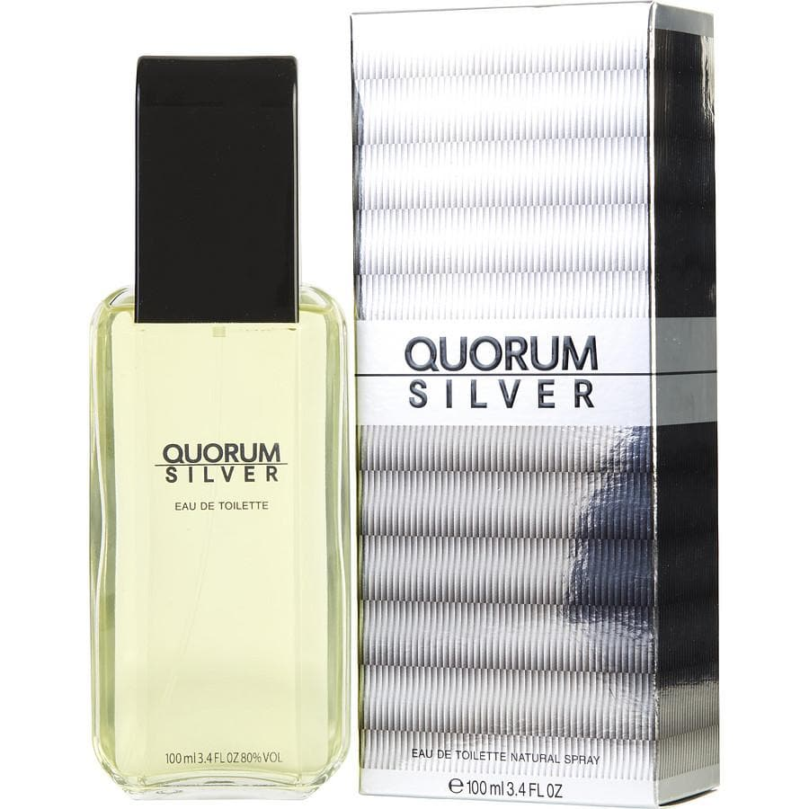 Antonio Puig Quorum Silver 50ml edt  Antonio Puig For Him