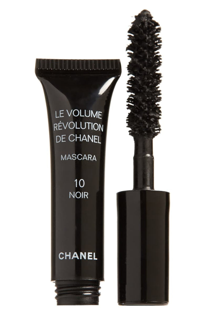 Chanel Mascara Volume Extreme 10 Noir (Black) - sample size