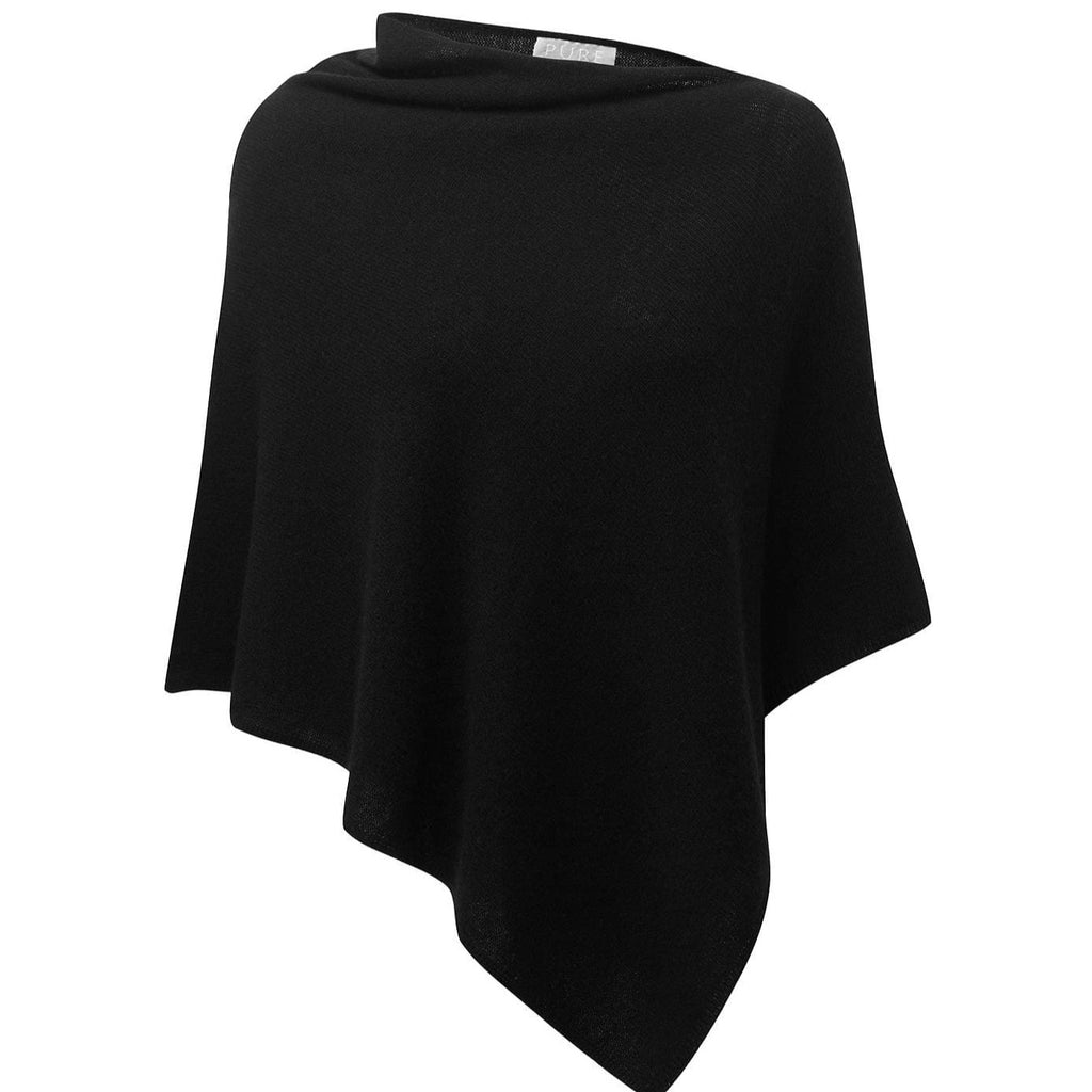 Cashmere Poncho Black   My Perfume Shop  Default