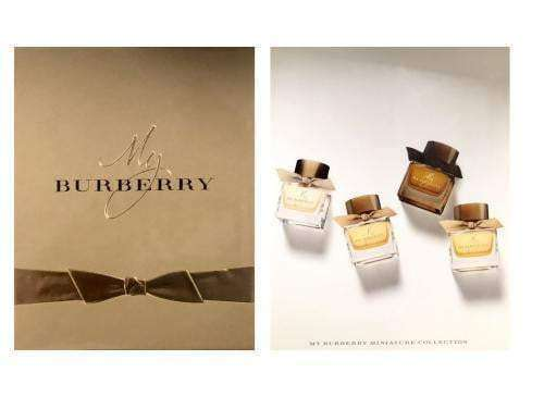 Burberry My Burberry Mini Set For Her   Burberry Giftset For Her