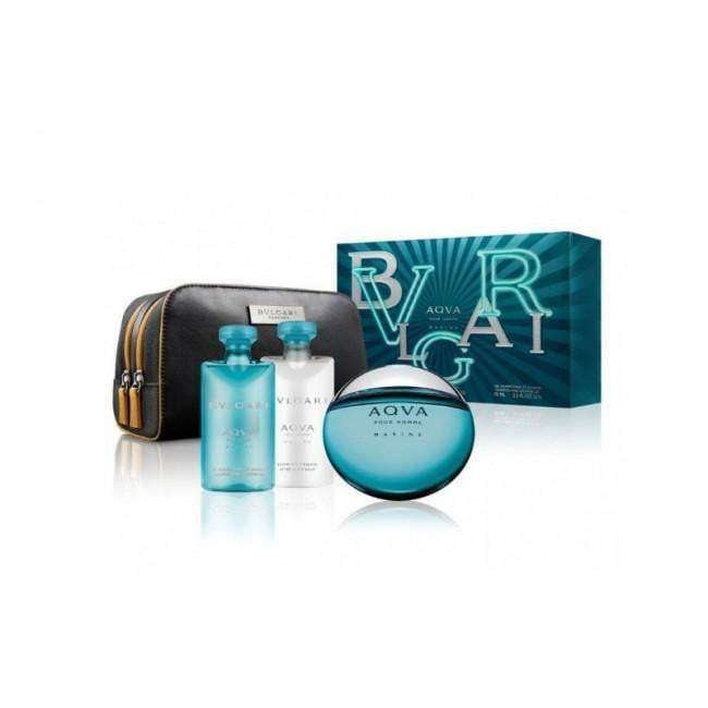 Bvlgari Aqva pour Homme 100ml EDT with Freebies 100ml Edt, 75ml S/G, 75ml ASB & pouch  Bvlgari For Him myperfumeshop-test.myshopify.com My Perfume Shop