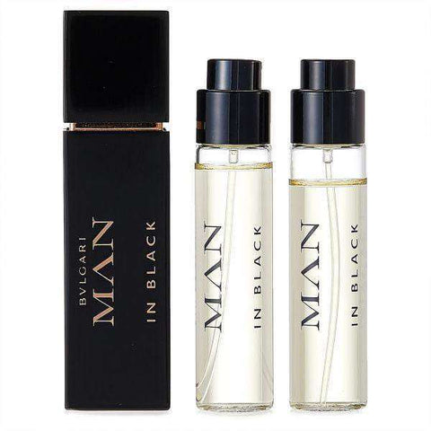 Bvlgari Man in Black - 3x15ml Refillable Set - My Perfume Shop