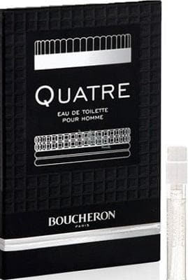 Boucheron Quatre For Him 2ml EDT Vial 2ml edt  Boucheron For Him