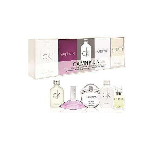 Calvin Klein Mini Gift Set For Her 5 x Minis  Calvin Klein Giftset For Her