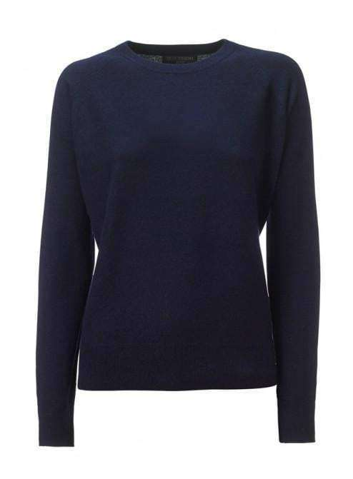 Cashmere Round Classic - Navy - My Perfume Shop