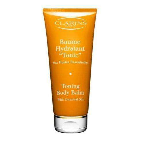 Clarins Toning Body Balm With Essential Oils - Trail Size 50ml Body Balm  Clarins For Her