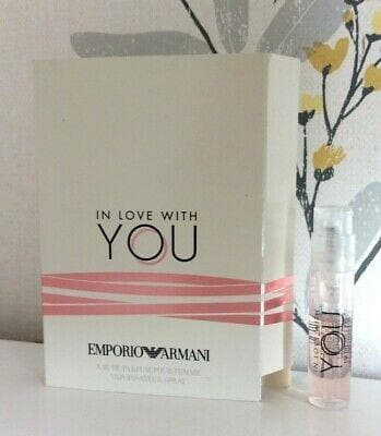 Giorgio Armani In Love With Youâ 1,2ml EDP Vial 1,2ml Edp Vial  Giorgio Armani For Her