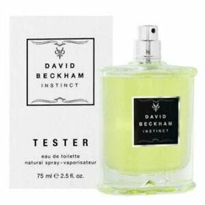 David Beckham Instinct 75ml Edt - Tester