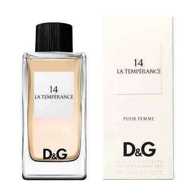 Dolce & Gabbana Anthology 14 La Temperance - My Perfume Shop