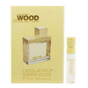 Dsquared She Wood Golden Light - Vial - My Perfume Shop