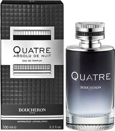 Boucheron Quatre Absolut Night Men 100ml EDP 100ml Edp  Boucheron For Him