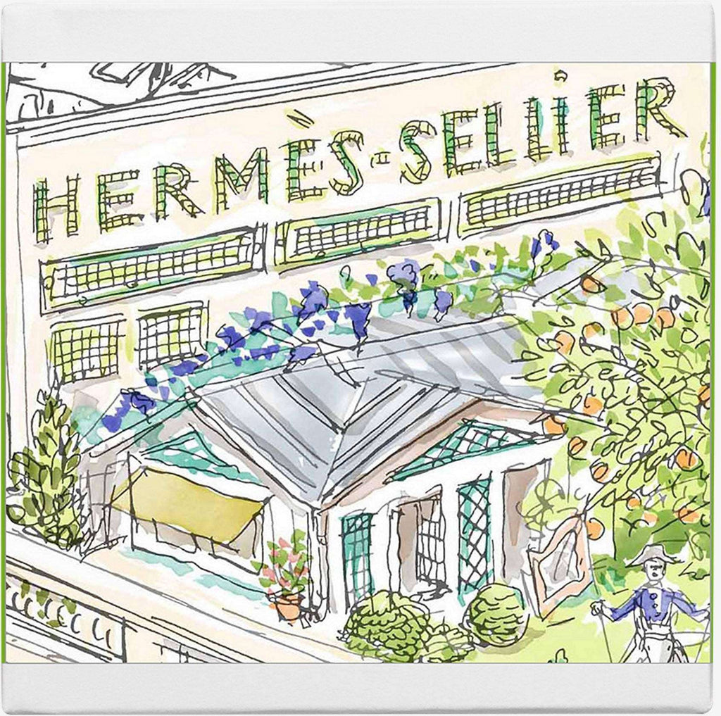Hermes La Collection des Parfume-Jardins Perfumed Soaps   Hermes For Her