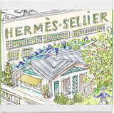 Hermes La Collection des Parfume-Jardins Perfumed Soaps 3 x 100g fragranced soaps  Hermes For Her