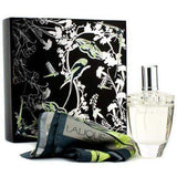 Lalique  Fleur de Cristal 100ml edp 100ml edp with free Laique Scarf  Lalique Giftset For Her