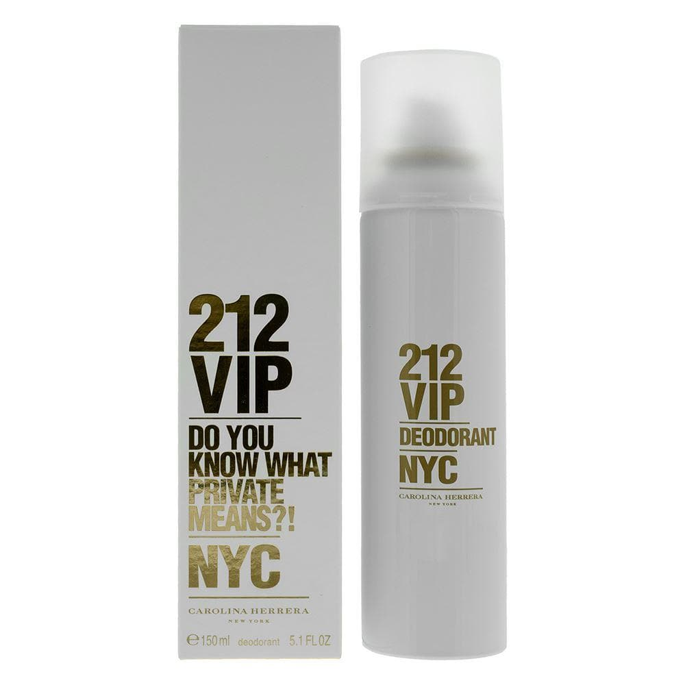 Carolina Herrera 212 VIP for Women - Deo Spray 150ml Deo Spray  Carolina Herrera For Her