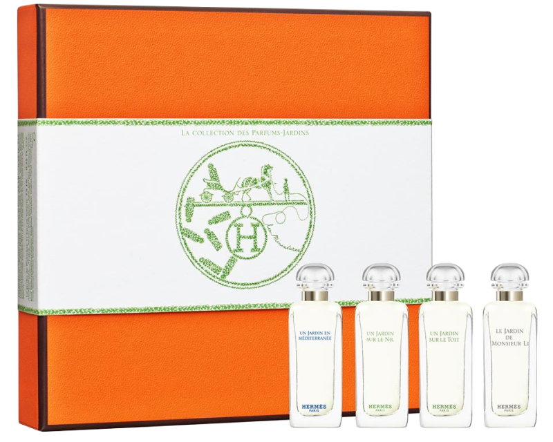 Hermes Miniature Coffret Giftset 4 x 7,5ml Edt Minis  Hermes Giftset For Her
