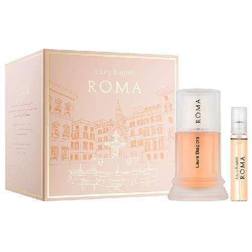 Laura Biagiotti Roma for her - Giftset 25ml edt and 15ml purse spray  Laura Biagiotti Giftset For Her