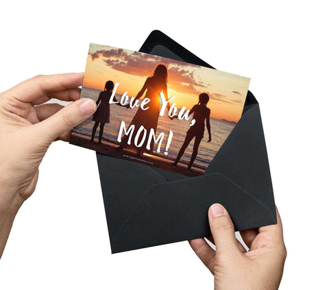 Love You Mom Card - My Perfume Shop
