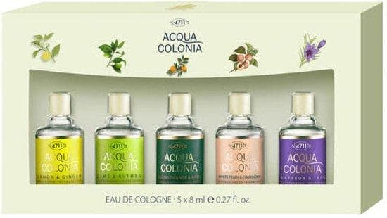 4711 Acqua Colonia Mini Gift Set 5 x 8ml Mini Fragrances  Maurer & Wirtz Giftset For Her