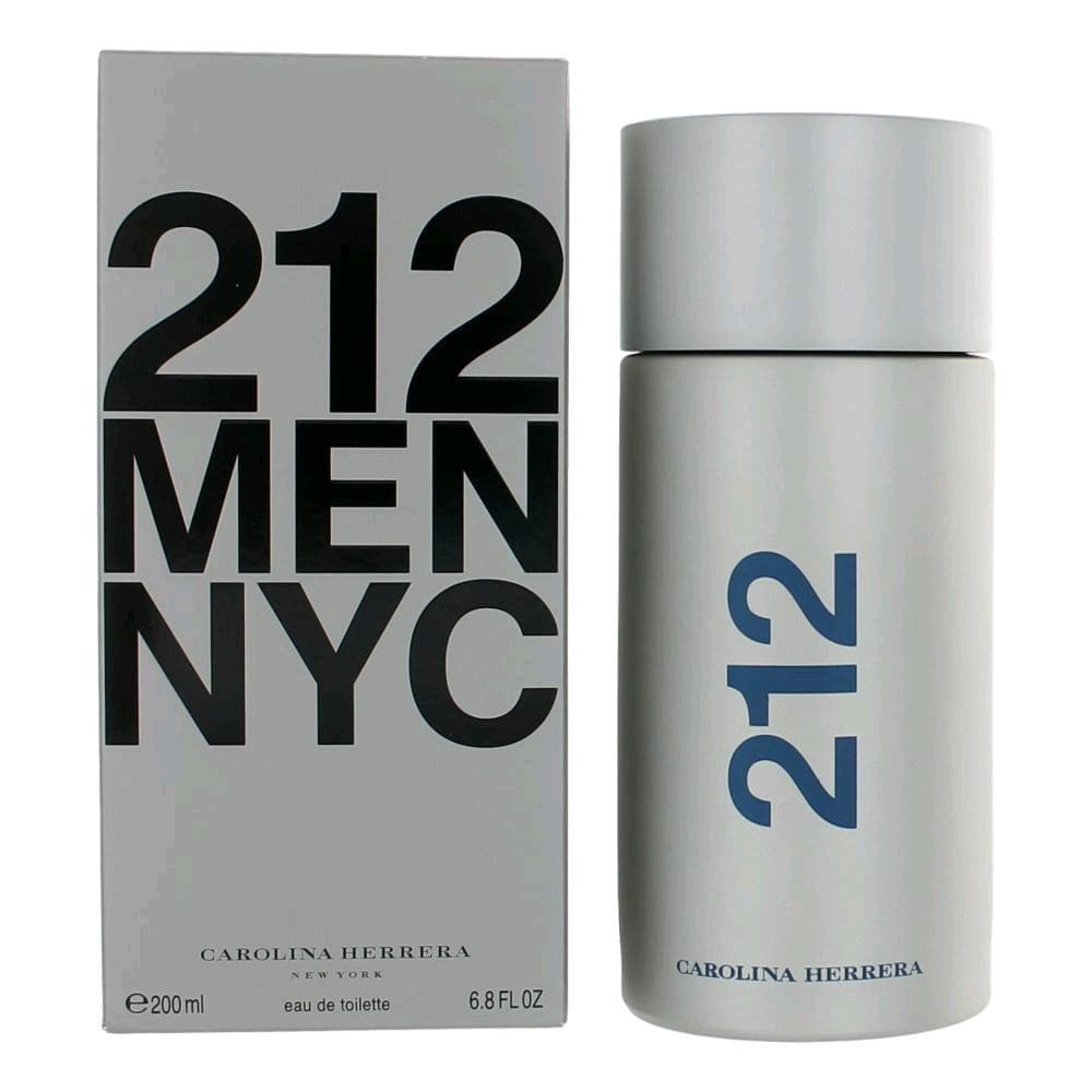 Carolina Herrera 212 Men 200ml EDT Supersize 200ml Edt Supersize  Carolina Herrera For Him
