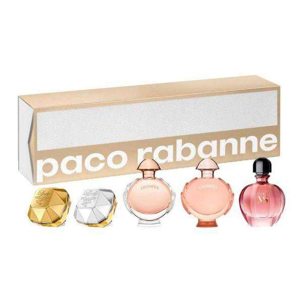 Paco Rabanne Mini Gift Se for Women 5 x Mini Gift Set  Paco Rabanne Default