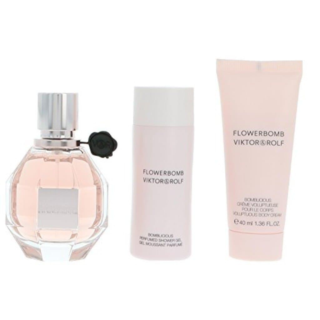 Victor and Rolf Flowerbomb 50ml Edp   Viktor&Rolf Giftset For Her