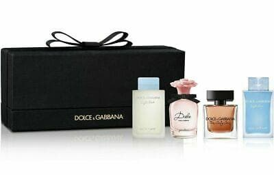 Dolce & Gabbana 4 Piece Miniature Giftset for Women