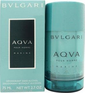 Bvlgari Aqva Marine 75ml Deo Stick 75ml Deo Stick  Bvlgari For Him