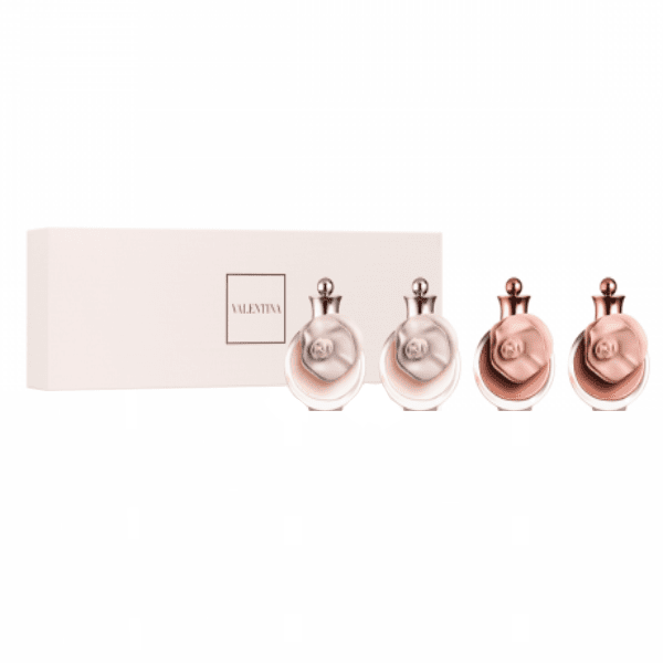 Valentino Mini Set For Women 4 x edp Mini  Valentino Giftset For Her