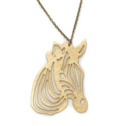 Titimadam Zebra Necklace